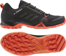 adidas TERREX AX3 Schoenen Heren, core blackcarbonactive orange